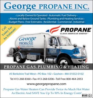Propane Gas, Plumbing & Heating