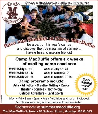 Summer at Camp MacDuffie