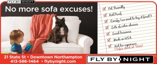 No More Sofa Excuses
