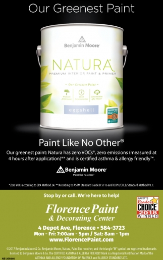 Our Greenest Paint