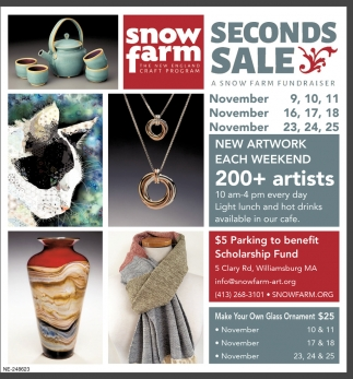 Snow Farm Fundraiser