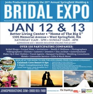 Bridal Expo, 29th Annual Springfield Wedding & Bridal Expo