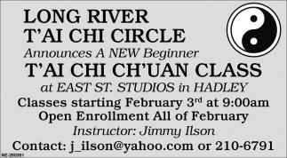 T'ai Chi Ch'Uan Class