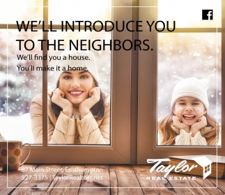 We'll Introduce You to the Neighbors