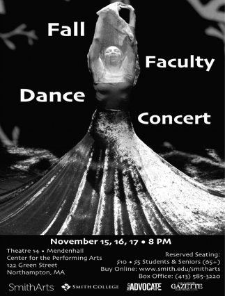 Fall Faculty Dance Concert