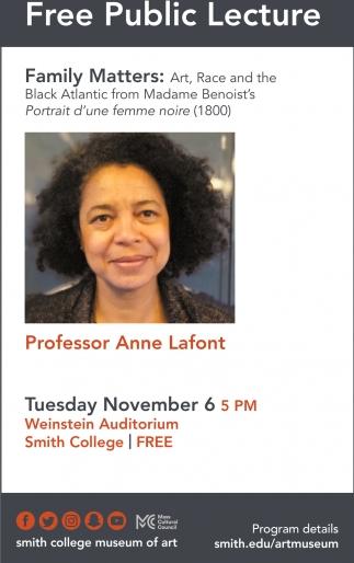 Free Public Lecture