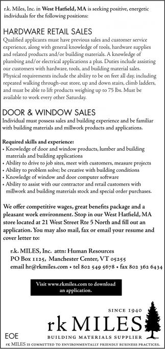 Hardware Retail Sales