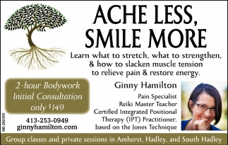 Ache Less, Smile More