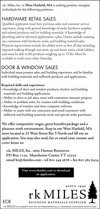 Door & Window Sales
