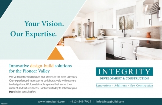 Your Vision. Our Expertise