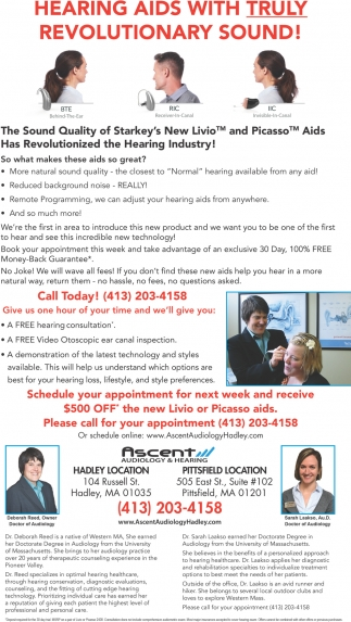 Hearing Aids with Truly Revolutionary Sound