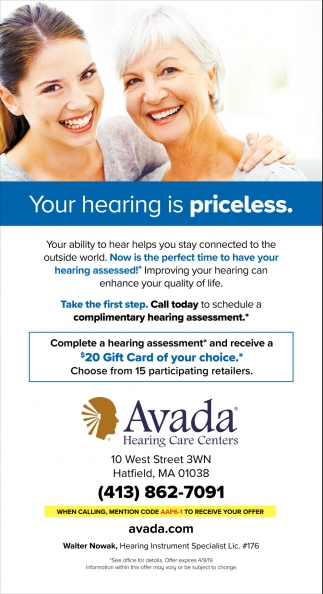 Your Hearing is Priceless