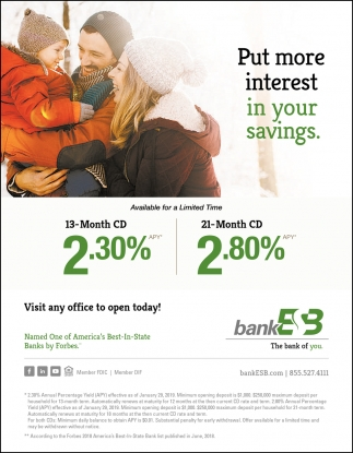 Put More Interest in Your Savings