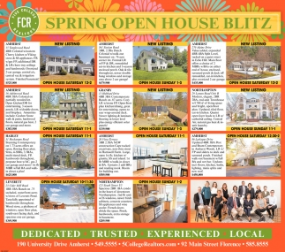 Spring Open House Blitz