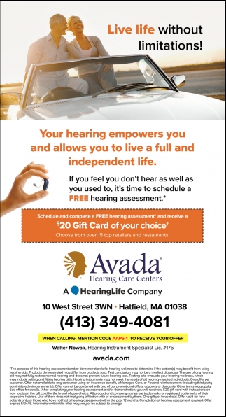 Your Hearing Empowers You and Allows You to Live a Full and Independent Life