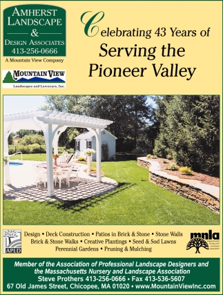 Celebrating 40 Years of Serving the Pioneer Valley