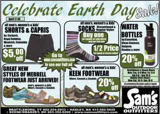 Celebrate Earth Day Sale