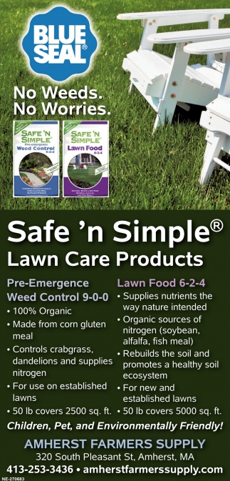 Safe n' Simple Lawn Care Products