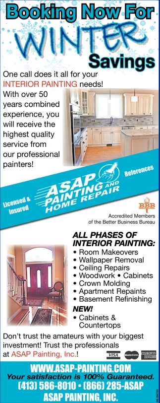 Exterior & Interior Painting Services