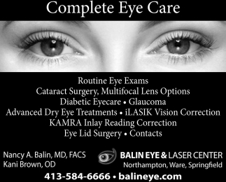 Complete Eye Care