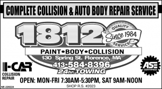 Complete Collision & Auto Body Repair Service